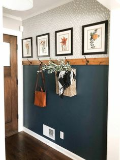 Simple & Affordable Fall Entryway – Best Home Decor Fall Entryway, Entryway Decor, Entryway Bench, Home Renovation, Home Remodeling, Diy Home Decor, Room Decor, Cozy House, Home Organization