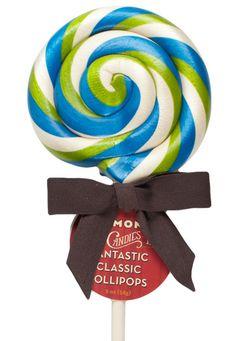 2oz Sour Apple Lollipop by Hammond's Candies