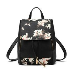 Women's Flowers Print Light Backpack Price: 39.00 & FREE Shipping #online #shopping #market #electronics4 #pets #fitness #home #personal #beauty #bags #mobile #camera #jewellery #car #books #toys #kids #fashion Sling Backpack Purse, Women's Mini Backpack, Travel Backpack, Travel Bags, Ladies Backpack, Floral Backpack, Small Backpack, Hiking Backpack, Mini Purse