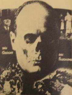 John Heartfield, The Face of Fascism, brochure cover, July 1928