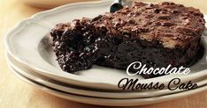 Chocolate Mousse Cake, Sweets Recipes, Cheesecake, Deserts, Cooking, Food, Cakes, Kitchen, Cake Makers
