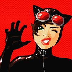 Find images and videos about meow, DC and dc comics on We Heart It - the app to get lost in what you love. Batgirl, Nightwing, Batman And Catwoman, Im Batman, Batman Art, Joker, Comic Book Characters, Comic Character, Comic Books Art