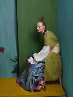 PHOTOGRAPHER: ANDREY YAKOVLEV ART-DIRECTOR: LILI ALEEVA MODEL: DARI @ Avant models STYLE: GALA BORZOVA MUAH: LILI ALEEVA