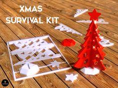 Xmas Survival Kit | 3dshare
