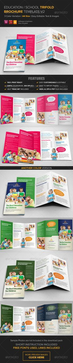Fashion TriFold Brochure  Brochures Psd Templates And Photoshop