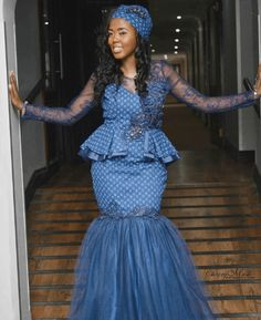 Stunning Shweshwe Dresses 2019 for African Girls - Reny styles Stunning Shweshwe Dresses The Shweshwe Dresses is abundant admired in this allotment of the world, I beggarly it is the best bolt and I apperceive South African Dresses, African Maxi Dresses, African Wedding Dress, Latest African Fashion Dresses, African Dresses For Women, African Attire, African Outfits, African Clothes, African Men