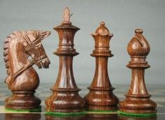 Weighted Staunton Chess Game Set Pieces 4Q Rose Wood. http://www.chessbazaar.com/chess-pieces/wooden-chess-pieces/weighted-staunton-chess-game-set-pieces-4q-rose-wood.html