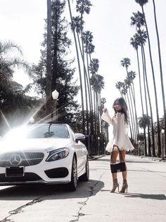California Dreaming | http://www.mywhitet.com/little-white-dress/
