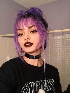 Newest Absolutely Free Dyed Hair aesthetic Thoughts Are your roots giving the a. - Newest Absolutely Free Dyed Hair aesthetic Thoughts Are your roots giving the action apart that wi - Dye My Hair, New Hair, Putple Hair, Boys Dyed Hair, Short Dyed Hair, Goth Hair, Hair Bangs, Hair Updo, Hair Inspo