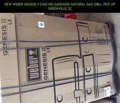 NEW Weber Genesis II S340 NG 66004001 Natural gas grill pick up Greenville, SC #gas #fpv #camera #weber #drone #parts #shopping #kit #products #technology #natural #gadgets #racing #grills #plans #tech
