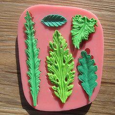 Folhas definir fondant bolo molde molde de chocolate para o cozimento cozinha Silicone Ferramenta de Decoração Do Bolo de Açúcar CT392 em   de   no AliExpress.com | Alibaba Group