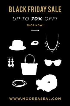 TODAY ONLY! take up to 70% off of tons of items at mooreaseal.com!  Let the black friday shopping begin!