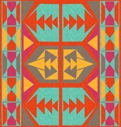 Tribal Native American Southwestern Art Print