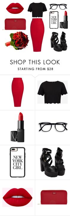 """Без названия #76"" by estellaagahanyan on Polyvore featuring мода, Ted Baker, NARS Cosmetics, Casetify и Dolce&Gabbana"