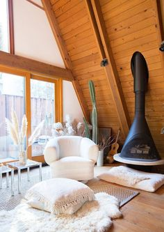 Neutral Zone - This Hollywood Hills A-Frame Home Is Magical - Photos