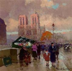 Effect of sunlight on Notre Dame - Edouard Cortes