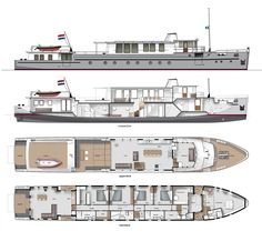 Boat Plans 371335931779093055 - Capital 40 – UrbanShips Source by alexandrenaz Barge Boat, Canal Barge, Yacht Design, Boat Design, Explorer Yacht, Power Boats, Speed Boats, Classic Yachts, Boat Projects