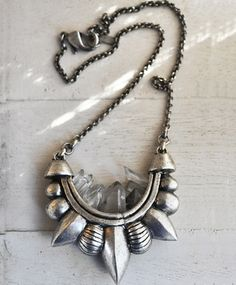 Quartz Tribal Necklace