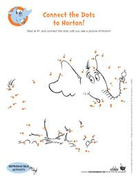 Dr. Seuss' Horton Hears a Who Activities, Coloring Pages & Games - Earlymoments.com