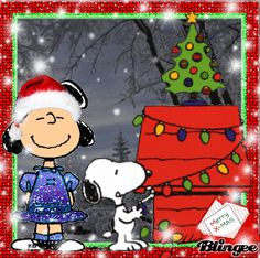 Merry Christmas, Love Lucy and Snoopy