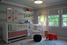 Modern Baby Boy Retreat - contemporary - kids - dallas - Lilli Design