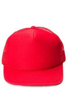 617ffb21 Red Mesh Baseball Cap - Ragstock Baseball Cap, Bandana, Baseball Hat,  Bandanas