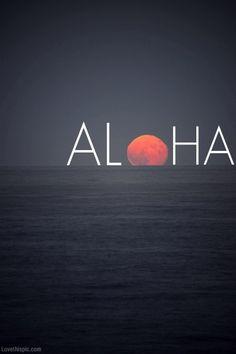 aloha photography summer sunset ocean aloha