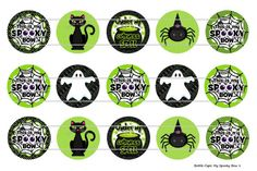 15 My Spooky Bow Halloween 1 Digital Download for 1 by MaddieZee, $1.25