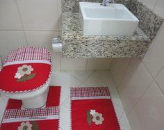 jogo tapete banheiro patch