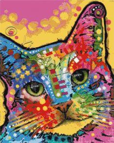 Tilt cat | Yiotas XStitch