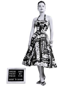 Alfred Shaheen dress (Surf n' Sand label), 1950s