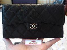 Chanel wallet - black caviar