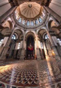 Santa Maria della Salute Vertorama, Venice, Italy