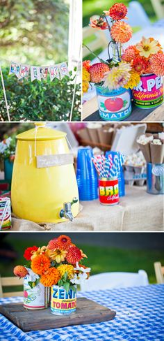 Farmer's Market Birthday Party | Eye Heart Pretty Things