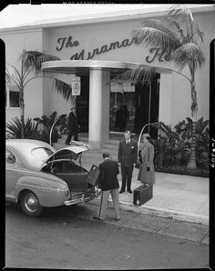 1947 The Miramar Hotel | Santa Monica, CA | USC Digital Archive/Automobile Club of Southern California Collection