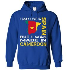I May Live in Spain But I Was Made in CAMEROON #christmasgifts #merrychristmas #xmasgifts #holidaygift #spainlovers #ilovespain