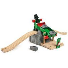 Brio - 33551 - Véhicule miniature - Station de chargement de rochers: Amazon.fr: Jeux et Jouets