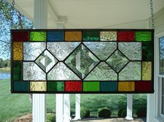 Stained Glass Panel Window.