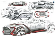 Dodge Convertible concept by Matthew Braun