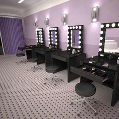 I want a make up station!!!