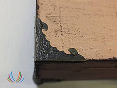 SASHE/kreativne potreby Polotovary - Kovový roh Fantázia, ihneď - 5674552_