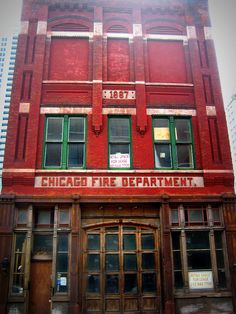 Old 1887 Chicago Firehouse | Shared by LION