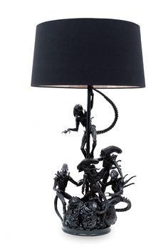 Xenomorph lamp