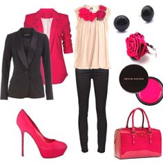 pink Outfits for Women   Pink outfit   The Rhythm Of Heels
