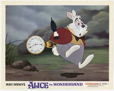 Alice in Wonderland, US lobby card. 1974 re-release