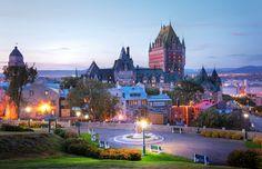 As melhores cidades do mundo para romance - Quebec, Canadá