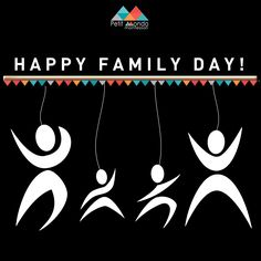 HAPPY FAMILY DAY! Family Day, Happy Family, Montessori, Portugal, Poster, Posters, Billboard