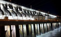 Itaipu Dam . Paraguay