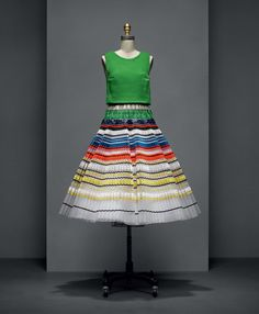 Handmade and Machine-Made Fashion Unite at the Met's Exceptional Manus x Machina Exhibit - Dress by Raf Simons for House of Dior  - from InStyle.com