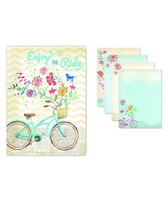 'Enjoy the Ride' Softcover Journal by Punch Studio #zulily #zulilyfinds
